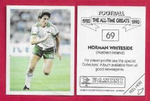 Northern Ireland Norman Whiteside Manchester United 69